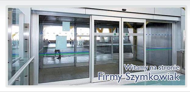 Nowoczesna architektura FIRMA SZYMKOWIAK - drzwi automatyczne, automatyka do drzwi, Leszno TS07